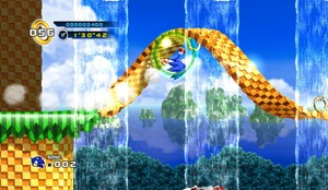 Mobius strips from Sonic 2 return!