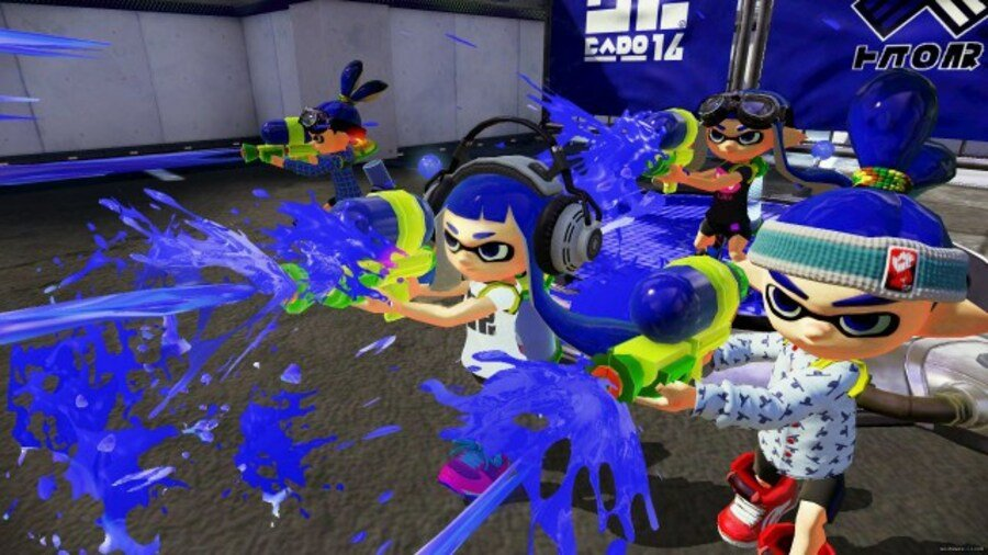 Splatoon was one of the big Nintendo titles at E3