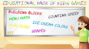 Educational Pack of Kids Games
