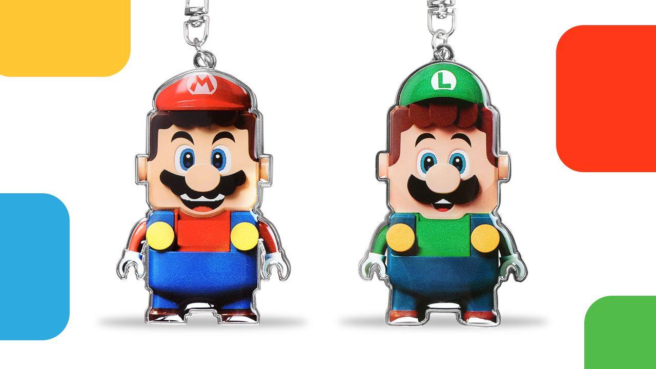 Nintendo's Giving Away LEGO Mario Keychains As Part Of New LEGO VIP Partnership