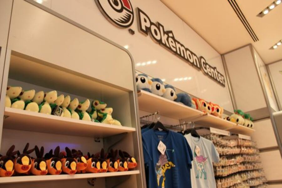 Pokemon Center at the Nintendo World Store in New York City