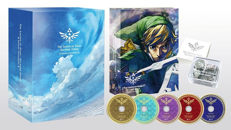 Skyward Sword Soundtrack - Nippon Columbia