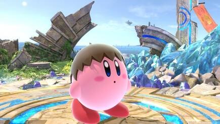 45. Villager Kirby