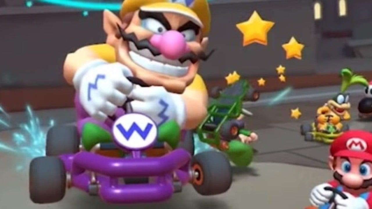 The Mega Mushroom Makes A Return In Mario Kart Tour