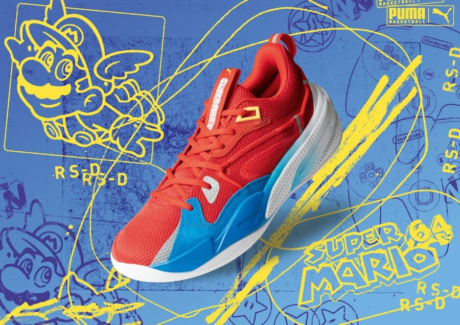 Super Mario Sneakers Puma