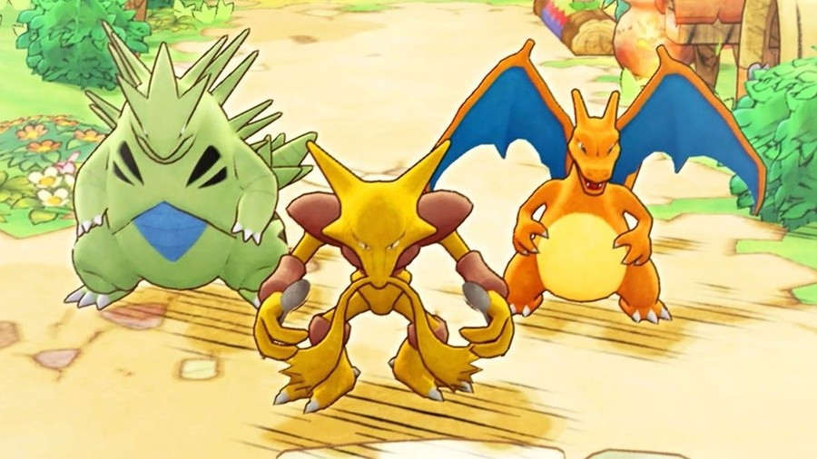 Pokemon Mystery Dungeon Switch