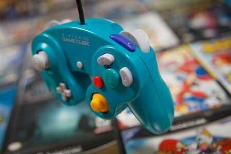 Gamecube Emerald Blue Controller