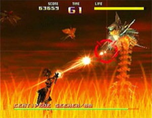 One of the boss fights in S&P