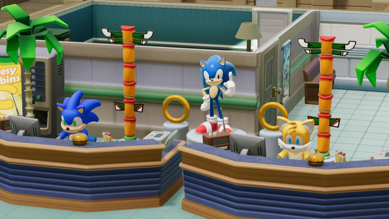 Two Point Hospital Receives Free Sonic DLC Pack