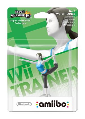 Wii Fit Trainer amiibo Pack