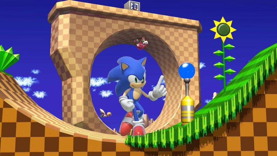 Smash creator Masahiro Sakurai celebrates Sonic's Birthday with the above screenshot