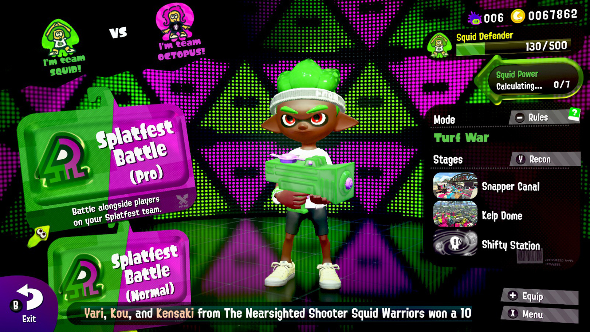 Gallery Check Out The Splatoon 2 Ver 4 Update Nintendo Life