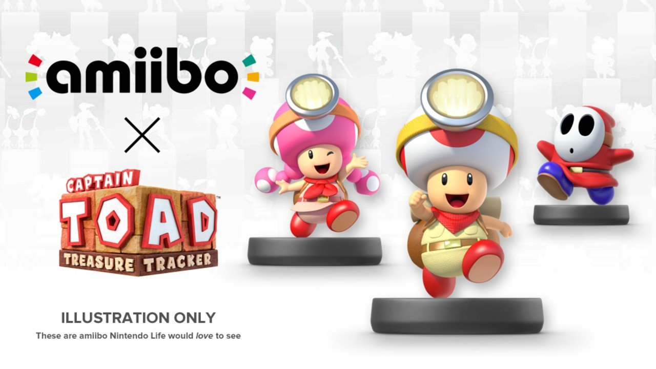 How We'd Like to See amiibo Used in Captain Toad: Treasure