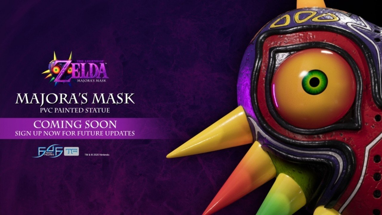 First 4 Figures Provides First Look At Legend Of Zelda: Majora's Mask Statue