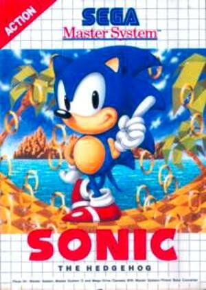 Sonic on the Master System - Same name, different game!