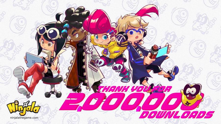 Ninjala 2 Million Downloads