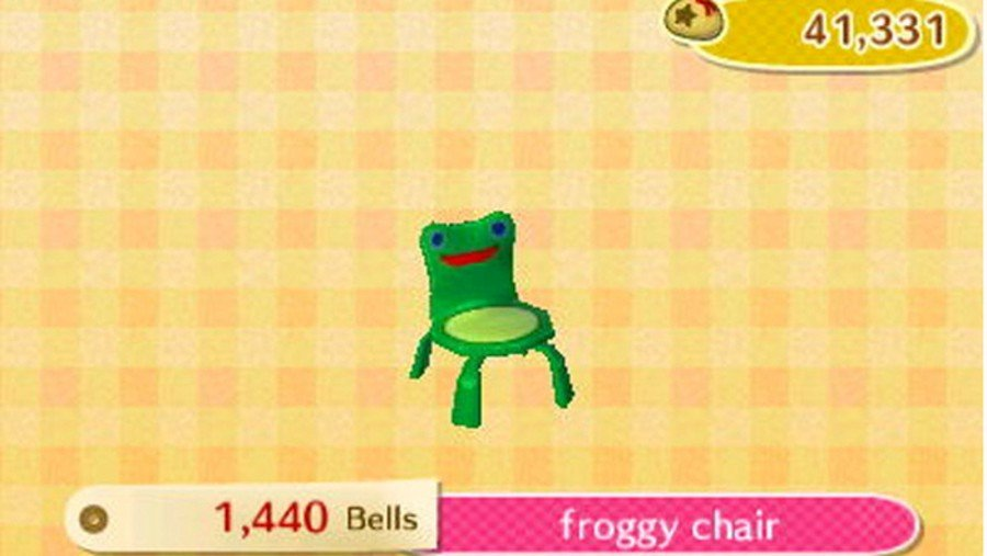 Random Sorry The Froggy Chair Doesn T Seem To Be In Animal