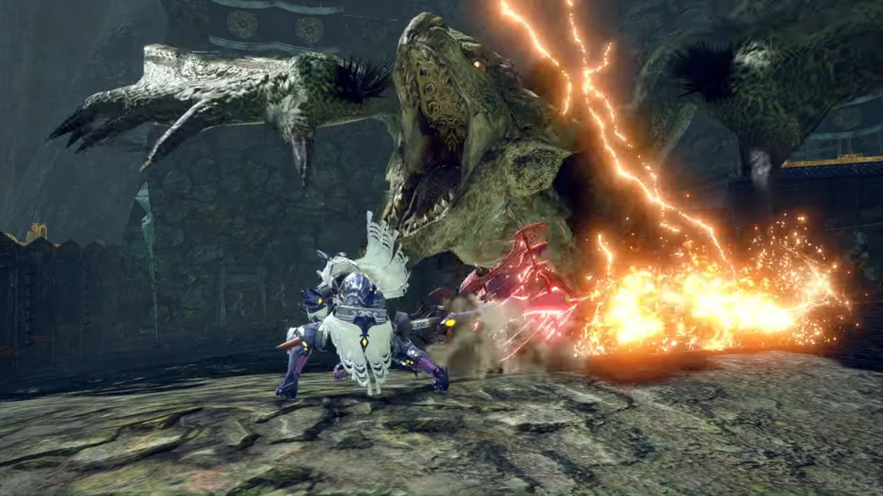 Video: Capcom Shows Off New Rampage Mode And Apex Monsters In Monster Hunter Rise