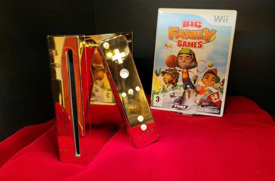 Queen Elizabeth's Golden Nintendo Wii