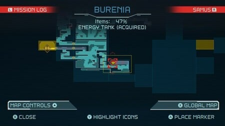 Metroid Dread All Energy Tank