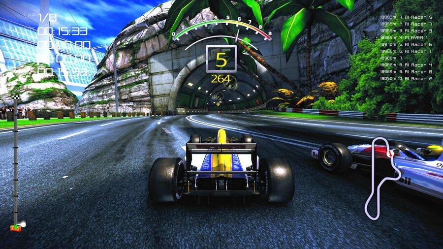 90 S Arcade Racer