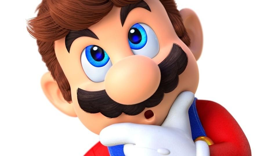 Super Mario thinking