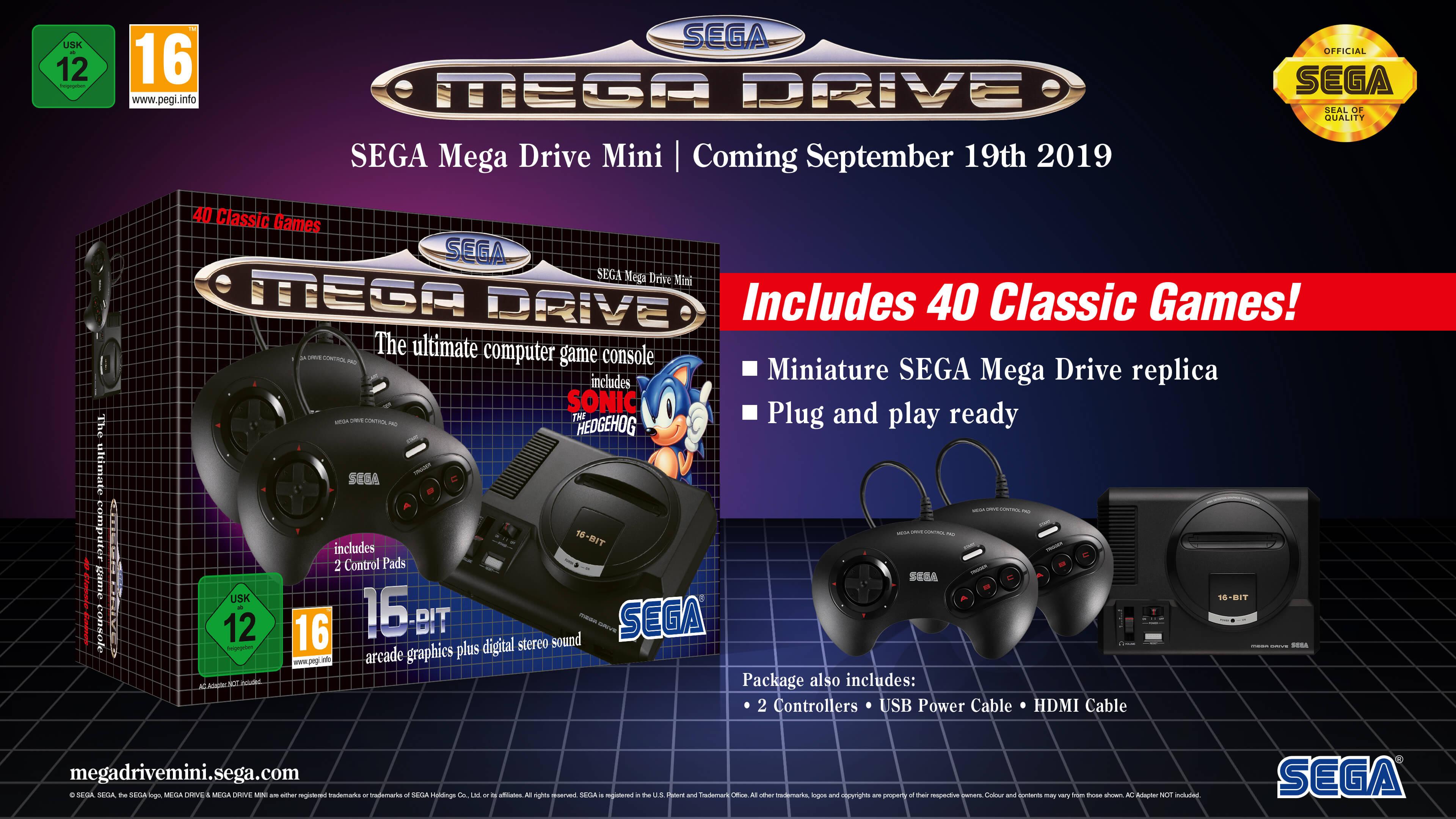 Mega Drive Mini Games List: All 42 Titles Revealed - Nintendo Life