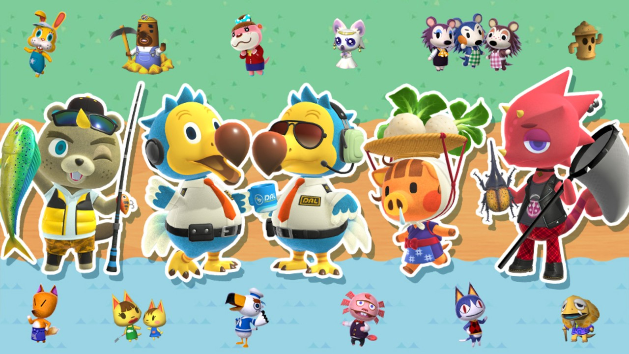 Four New Animal Crossing Spirits Join Smash Bros. Ultimate Later This Week 53