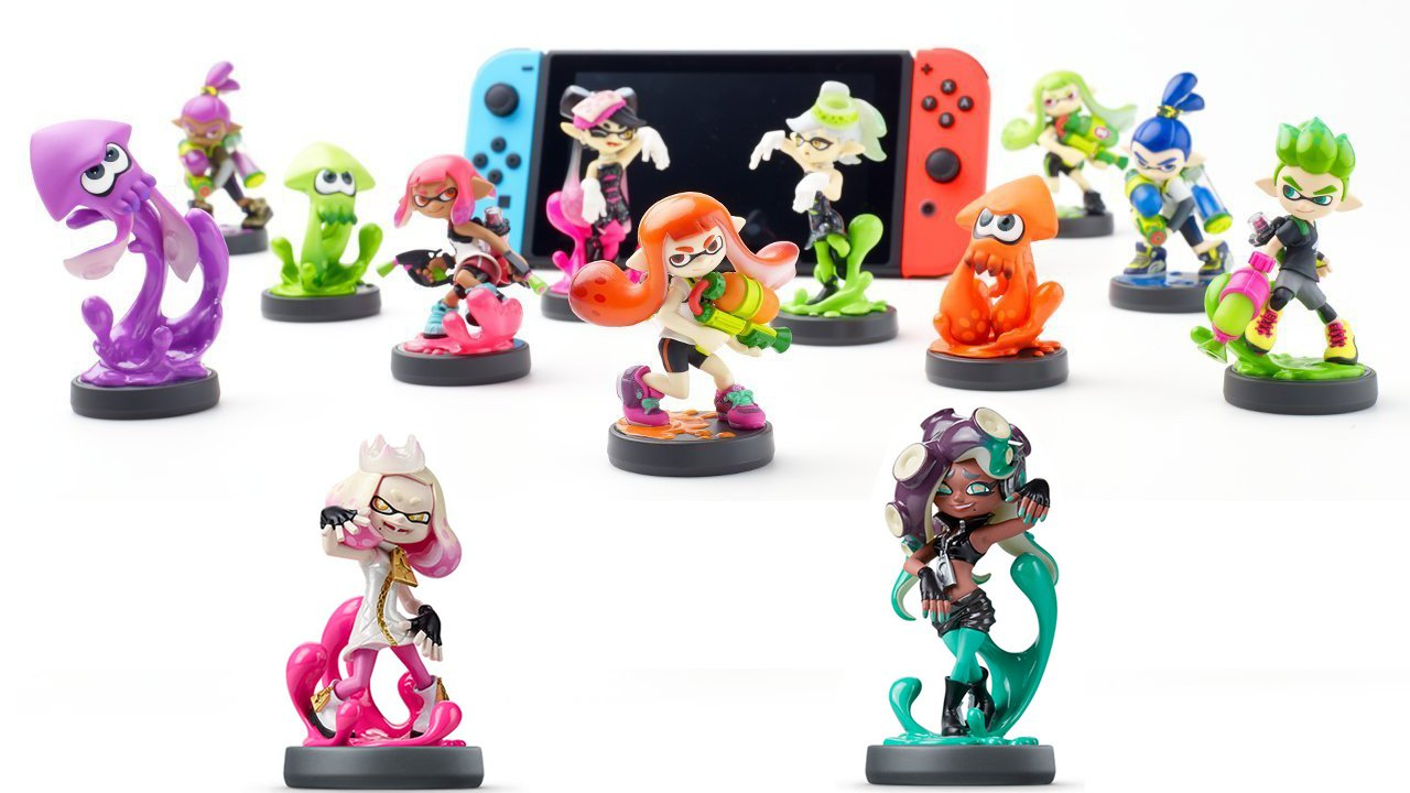 All The Splatoon 2 Amiibo Unlocks Guide Nintendo Life Switch Red Blue Bundle 2games 2amiibo If You Are A
