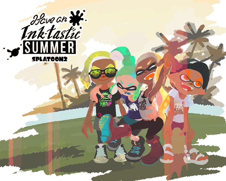 Splatoon 2 Summer