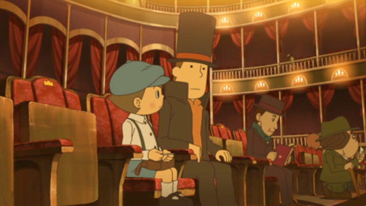Movie Review Professor Layton And The Eternal Diva Nintendo Life
