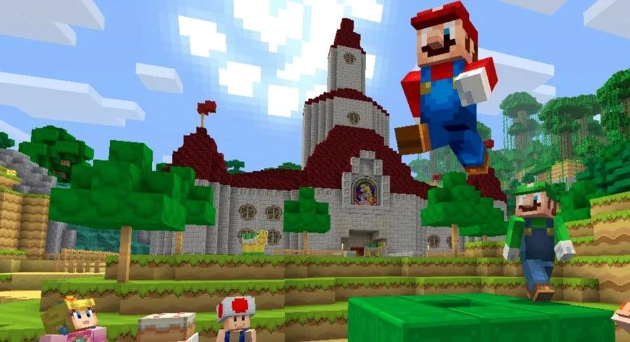 Minecraft Mario
