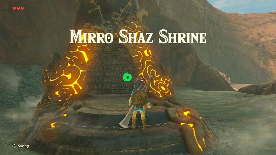 Mirro Shaz Shrine Entrance