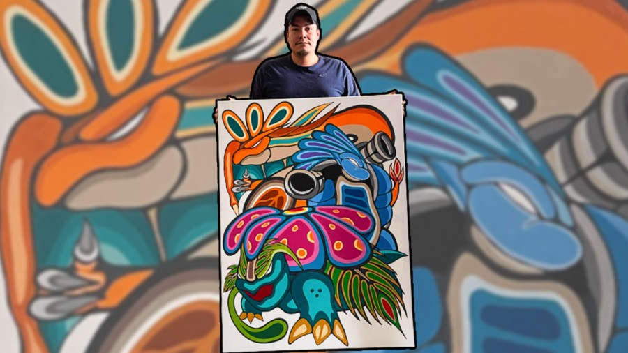 Indigenous Artist Charles A