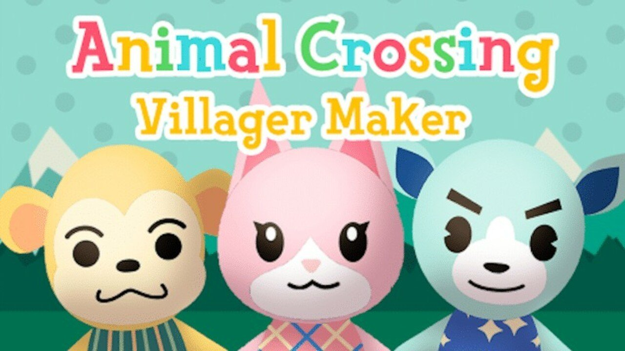 Random: Design Your Own Animal Crossing Villager With This