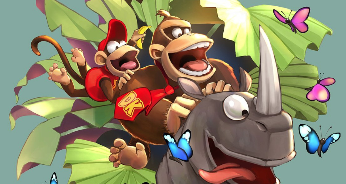 Playtonic's Steve Mayles Releases Special Donkey Kong Country Artwork To Mark Its 25th Birthday