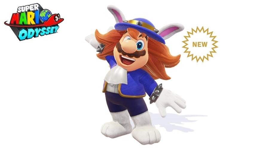Super Mario Odyssey Spewart