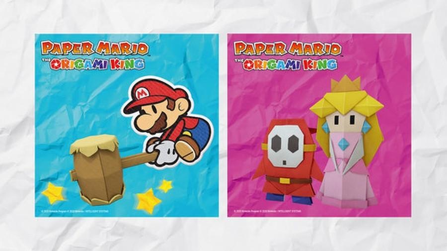 Paper Mario Memo Set