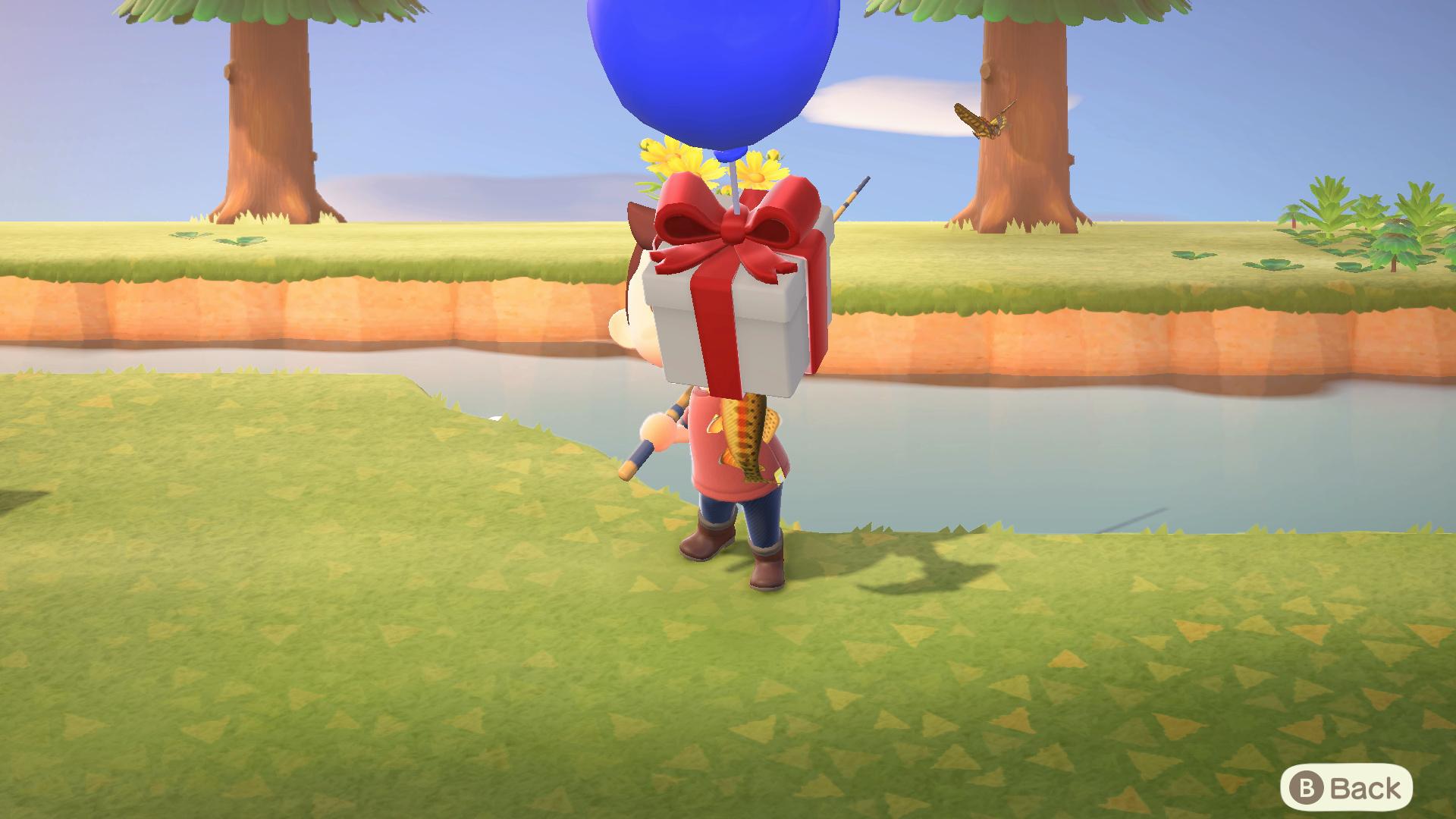 blue balloon animal crossing new horizons.original
