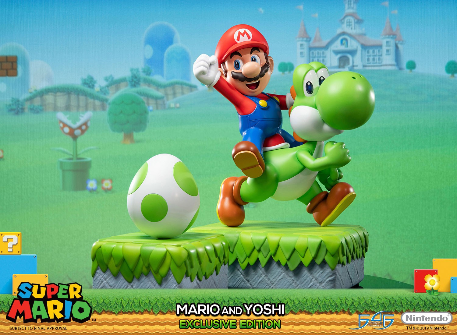 preorders for mario and yoshi statue go live on first 4