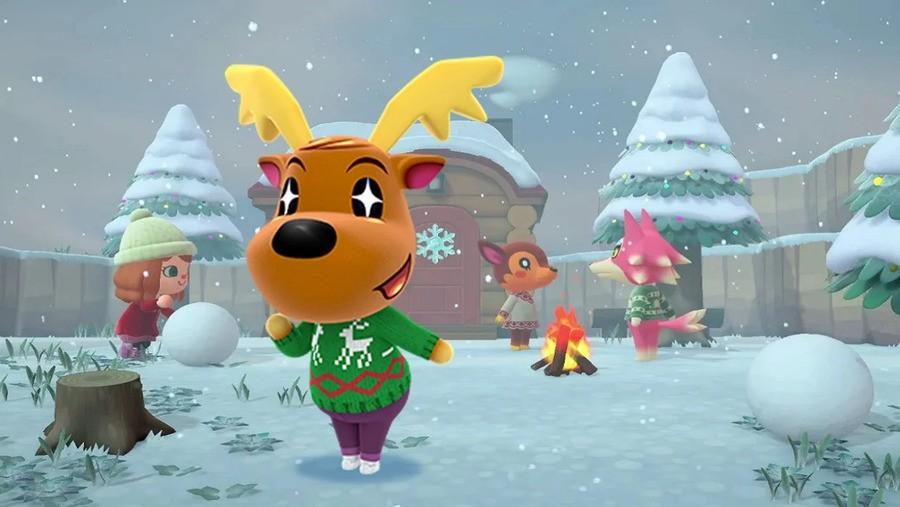 Animal Crossing Christmas