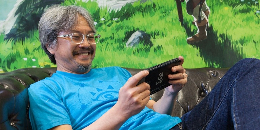 Eiji Aonuma - a living legend