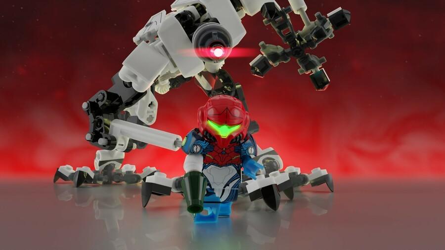 Metroid Dream EMMI Chase LEGO
