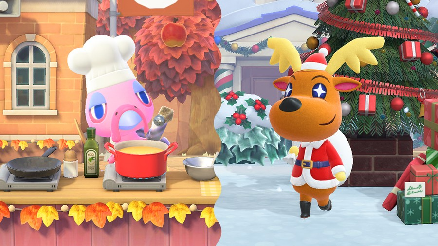 Turkey Day and Toy Day in Animal Crossing: New Horizons
