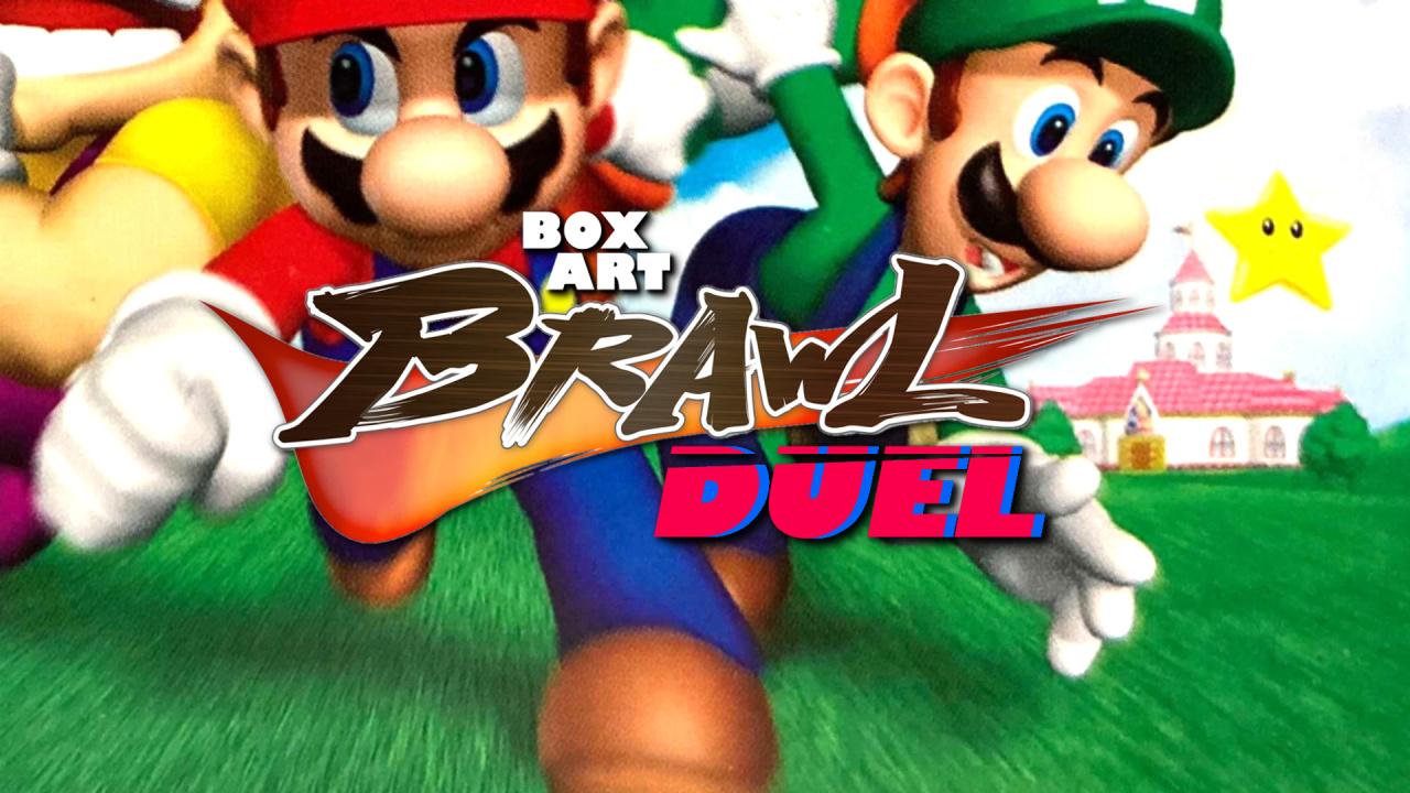 Poll: Box Art Brawl: Duel #77 - Super Mario 64 DS