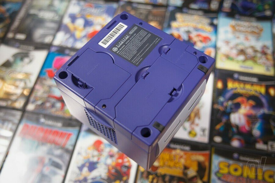 Gamecube System Back