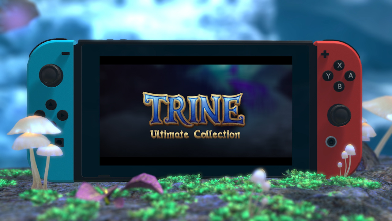 Trine's Four-In-One Ultimate Collection Confirmed for Nintendo Switch This Fall