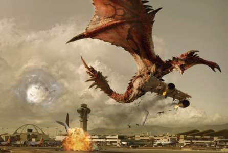 A concept render for the potential Monster Hunter movie