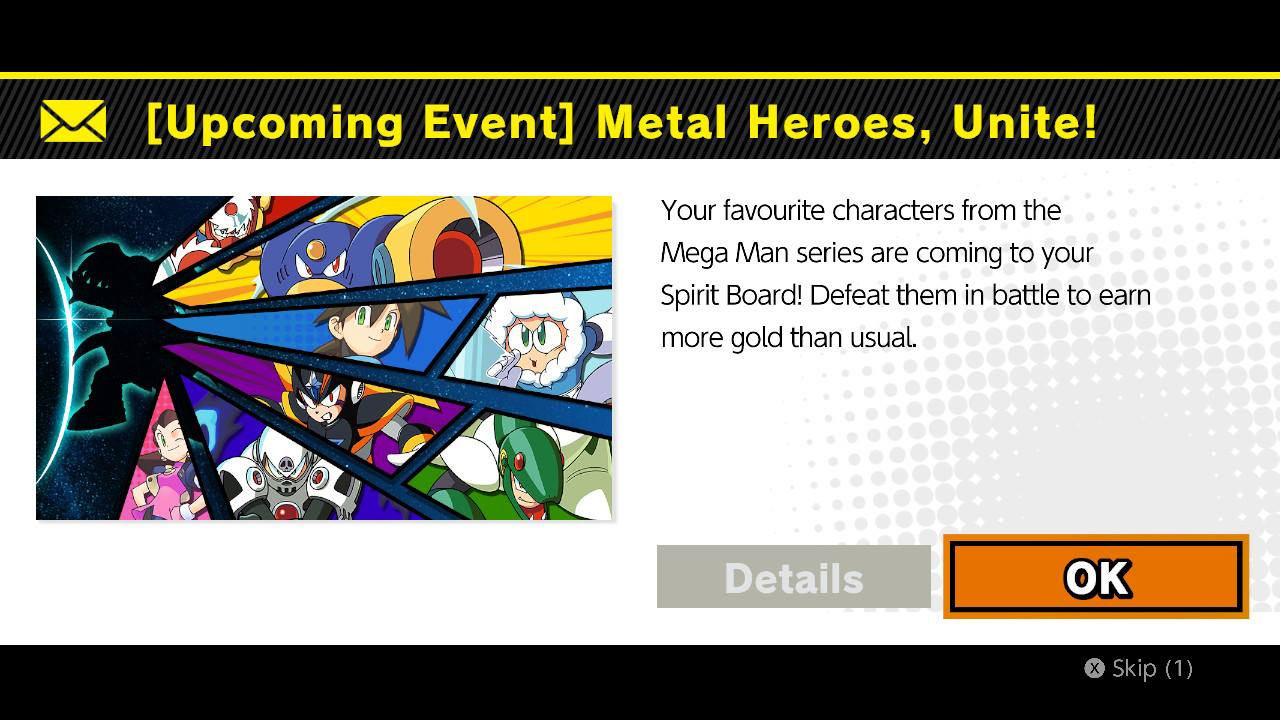 Snag Your Favourite Mega Man Characters In The Next Smash Bros. Ultimate Spirits Event