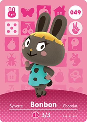 Bonbon amiibo card